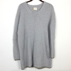 Girl. Band of Outsiders Gray Sweater Size 3